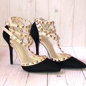 Fake Valentino Style Heel